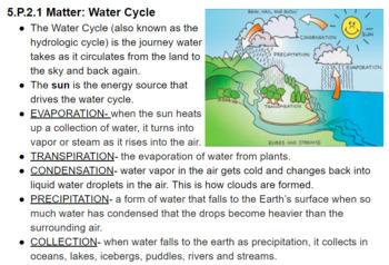 5.P.2 Matter Study Guide