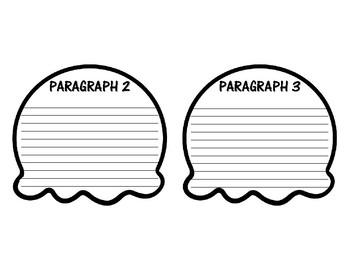 FIVE PARAGRAPH ESSAY ICE CREAM WRITING ACTIVITY (CRAFTIVITY)