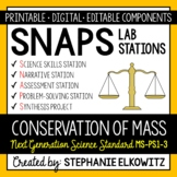 5-PS1-2 Conservation of Mass Lab Stations Activity