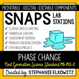 5-PS1-2 Phase Change Lab Stations Activity