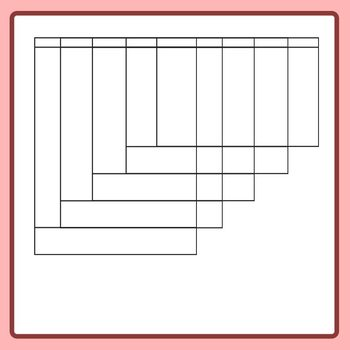 5 Page Flip Book Template - Blank FlipBook Clip Art Set for Commercial Use