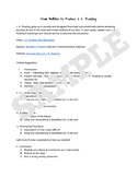 5 Paired Text Expository Writing Assignment Sheets - Learning From Failure