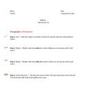 5 Paragraph Comparative Literary Essay Outline- step by step procedure
