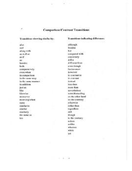 5 Paragraph Compare & Contrast  (Book vs Movie) Essay/Outline