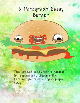 5 Paragraph Essay Burger