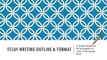 5 Paragraph Essay Outline & Graphic Organizer