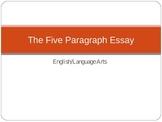 5 Paragraph Essay Overview