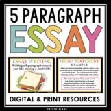 5 PARAGRAPH ESSAY PRESENTATION & ESSAY OUTLINE