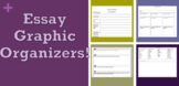 5-Paragraph Essay Writing Graphic Organizers and Writing guides