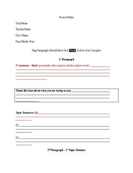 Pre written essay