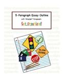 "5-Paragraph ""Stoplight"" Essay Organizer"