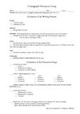 5 Paragraph Persuasive Essay Rubric