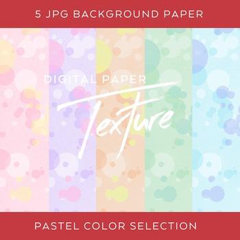5 Pastel Dot Digital Background