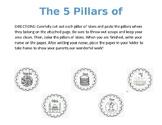 5 Pillars Of Islam Activity
