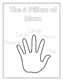 5 Pillars of Islam Activity Worksheet