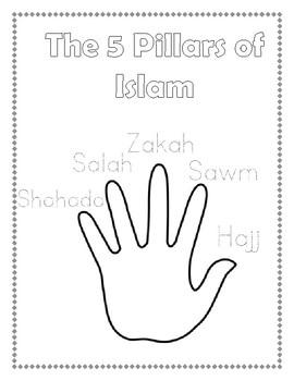 5 Pillars of Islam Activity Worksheet