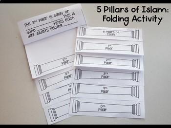 5 Pillars of Islam Foldable