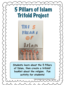 5 Pillars of Islam Lesson and Project