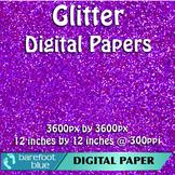 5 Pink Glitter Background Texture Digital Paper