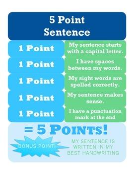 5 Point Sentences