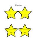5 Point Stars