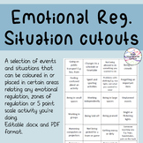 5 Point scale situation cut-outs