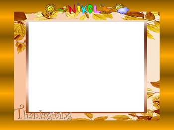 Thanksgiving Writing - Turkey -  5 Editable PowerPoint template