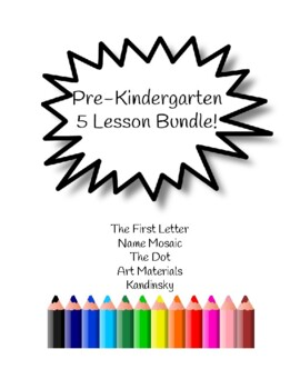 5 PreK Art Lessons