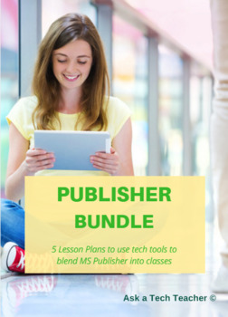 5 projects to learn publisher by ask a tech teacher tpt