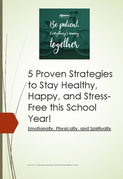 5 Proven Strategies for Teachers to Stay Happy, Healthy, and Stress-Free!
