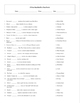 5 Puzzle 25 Even More Best Ever Teen Novels Worksheet Set and Keys