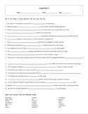 5 Puzzle Cosmos: A Spacetime Odyssey Episode 11 Worksheet Set with Keys