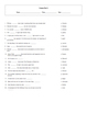 5 Puzzle Cosmos: A Spacetime Odyssey Episode 4 Worksheet Set with Keys