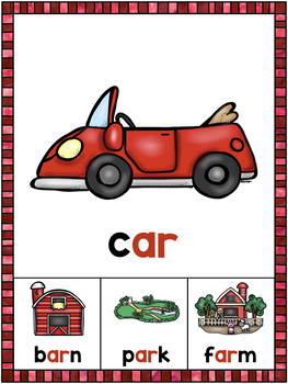 R-Controlled Vowel Posters