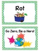 5 R's of Zero Waste Posters