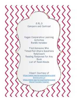 5.RL.3 Compare and Contrast Cooperative Learning Bundle