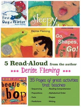 5 Read-alouds - Denise Fleming