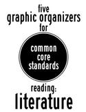 5 Reading Literature Common Core Graphic Organizers