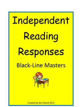 Daily Independent Reading Reponses for Any Text