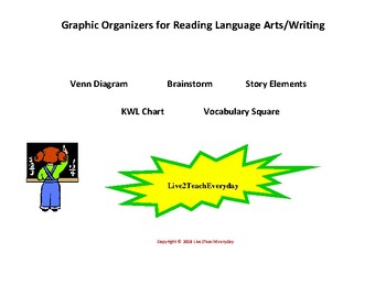 5 Reading & Writing Graphic Organizers