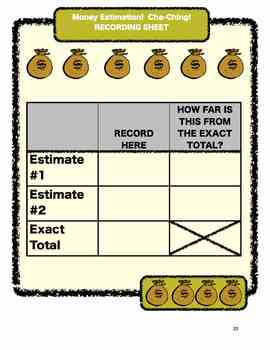 Common Core Aligned Math Projects: 5 Real Life Money Activities for Gr. 3-5