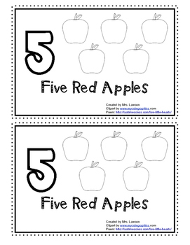 5 Red Apples