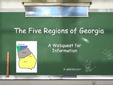 5 Regions of Georgia Webquest