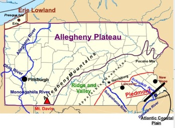 5 Regions of Pennsylvania Map (SMARTboard) on map of pocono mountains in pa, map of north park allegheny county pa, map downtown pittsburgh pa, map of appalachian mountains in pa, map of south park allegheny county pa, map of pa pittsburgh pennsylvania, map of pennsylvania ridge and valley region, map of district pittsburgh pa, map of pittsburgh pa and surrounding areas,