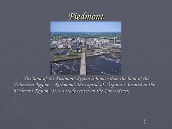 5 Regions of Virginia Slideshow (VS2)