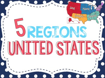 5 Regions of the United States