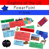 5 Regions of the United States PowerPoint