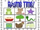 5 Rhyming Activities!  Bingo, Sorting, Matching and Board Game!