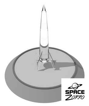 5 Rockets ( 3 dimensional images )