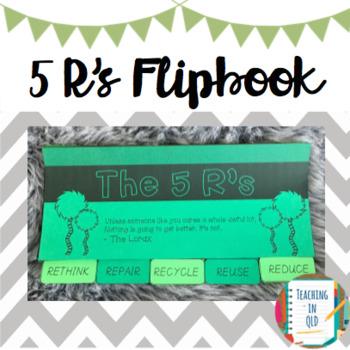 5 Rs Sustainability Flipbook